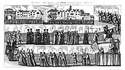 The solemn mock procession of the Pope . During the 'Exclusion Crisis' of 1678-81 anti-Catholic passions ran high, particularly in London, where 'pope-burnings' like this one in 1679 attracted huge crowds.