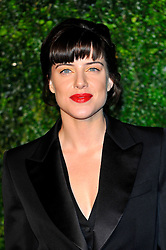 Michelle Ryan attends the 58th London Evening Standard Theatre Awards in association with Burberry, London, UK, November 25, 2012. Photo by Chris Joseph / i-Images.