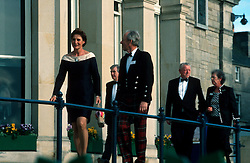 UK SCOTLAND ST ANDREWS 1-2JUN04 -  Invited guests arrive at the R & A Clubhouse for celebrations of the 250th anniversary of the club. The Royal and Ancient Golf Club of St. Andrews, Fife, Scotland is celebrating its 250th anniversary this year and is the governing authority for the rules of the game in more than 100 affiliated nations and is responsible for the Open Championship and key amateur and international events. The R & A is also dedicated to the development of golf world-wide and is a leader in environmental and ecological research.......jre/Photo by Jiri Rezac....© Jiri Rezac 2004....Contact: +44 (0) 7050 110 417..Mobile:  +44 (0) 7801 337 683..Office:  +44 (0) 20 8968 9635....Email:   jiri@jirirezac.com..Web:     www.jirirezac.com....© All images Jiri Rezac 2004 - All rights reserved...