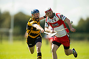 02/10/2016, IHC Semi Final at Trim.<br /> Kilskyre / Moylagh vs Gaeil Colmcille<br /> Michael Geraghty (Kilskyre/Moylagh) & Seamus Mattimoe (Gaeil Colmcille)<br /> Photo: David Mullen /www.cyberimages.net / 2016<br /> ISO: 400; Shutter: 1/1250; Aperture: 4; <br /> File Size: 2.5MB<br /> Print Size: 8.6 x 5.8 inches