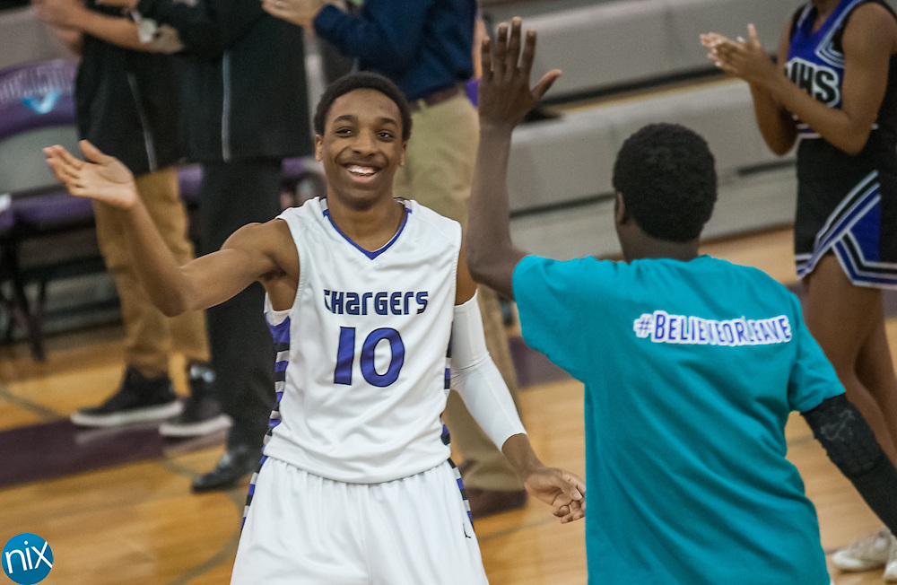 Cox Mill's Matt Morgan Matt Morgan is announced prior to a game against East Gaston during the first round of the NCHSAA playoffs at Cox Mill High School Monday night.  Cox Mill won the game 73-62.