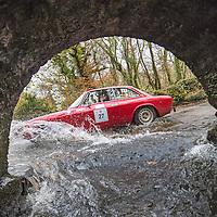 Car 27 Patrick Shaw / Christopher Shaw - Alfa Romeo GTV 1750