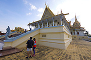 Phnom Penh, Cambodia. Royal Palace. Throne Hall (Preah Thineang Dheva Vinnichay Mohai Moha Prasat).