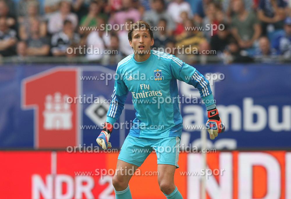 Football: Liga Total Cup 2012, Hamburger SV, Hamburg, 05.08.2012.goalkeeper Rene Adler.©Êpixathlon
