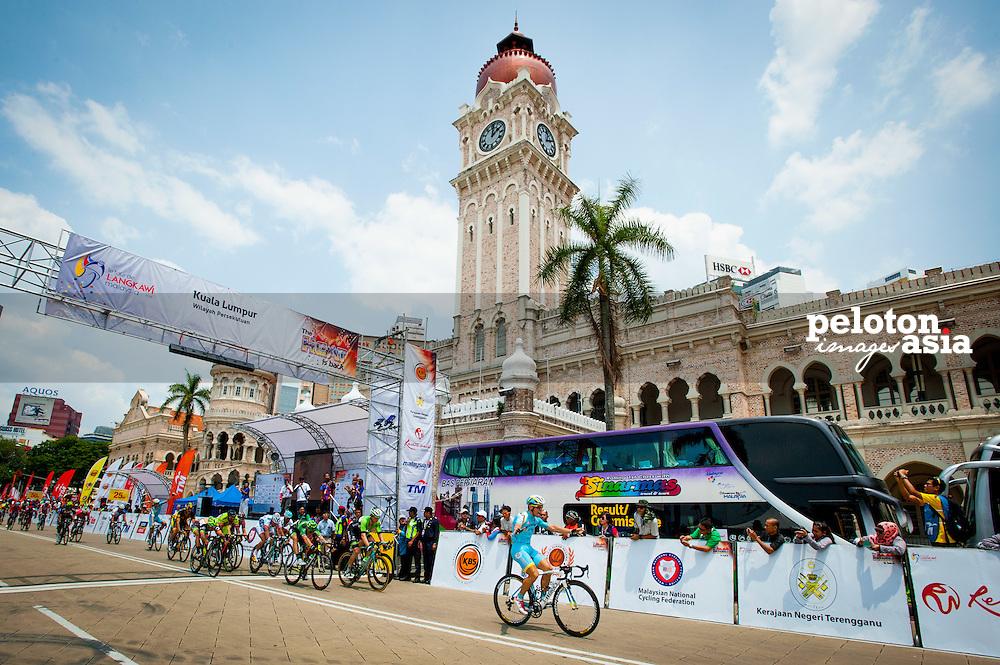 2014 Le Tour de Langkawi / stage3 / langkawi / GUARDINI Andrea (ITA) / ASTANA / Goal / sprint