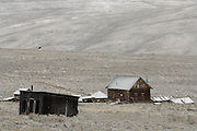 Buildings, Ghost Town, Winter, Gilmore, Idaho