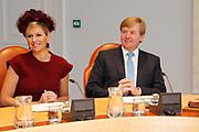 Prinses Maxima en Prins Willem Alexander
