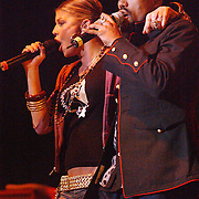 NLD/Amsterdam/20050518 - Concert Black Eyed Peas, Fergie, Taboo.Stacey Ferguson,  Jaime Gormez