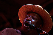 Magic Slim at King Biscuit Festival Helena, Arkansas
