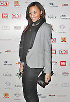 LONDON - November 27: Amal Fashanu at the OK! Magazine - Christmas Party (Photo by Brett D. Cove)