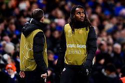 Renato Sanches of Lille warms up during the second half  - Mandatory by-line: Ryan Hiscott/JMP - 10/12/2019 - FOOTBALL - Stamford Bridge - London, England - Chelsea v Lille - UEFA Champions League group stage