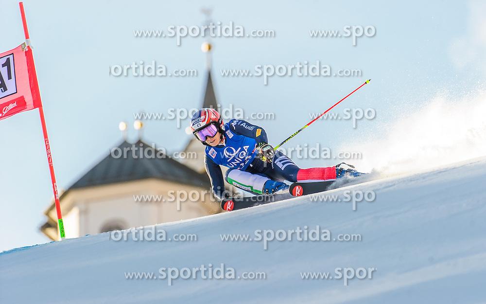 28.12.2015, Hochstein, Lienz, AUT, FIS Ski Weltcup, Lienz, Riesenslalom, Damen, 1. Durchgang, im Bild Manuela Moelgg (ITA) // Manuela Moelgg of Italy during 1st run of ladies Giant Slalom of the Lienz FIS Ski Alpine World Cup at the Hochstein in Lienz, Austria on 2015/12/28. EXPA Pictures © 2015, PhotoCredit: EXPA/ Michael Gruber