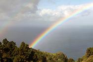 rainbow on la Palma
