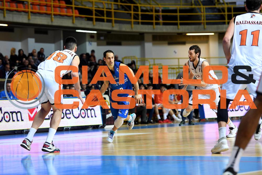 Nicolas Manuel Stanic<br /> Viola Reggio Calabria - Roma Gas &amp; Power Roma<br /> Campionato Basket LNP 2016/2017<br /> Reggio Calabria 26/02/2017<br /> Foto Ciamillo-Castoria
