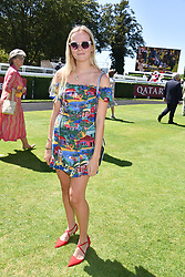 Phoebe Grant at the Qatar Goodwood Festival - Glorious Goodwood, Goodwood Racecourse, West Sussex 02 August 2018.