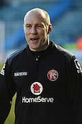 Walsall interim manager Jon Whitney shortly before the Sky Bet League 1 match between Gillingham and Walsall at the MEMS Priestfield Stadium, Gillingham, England on 12 April 2016. Photo by Martin Cole.
