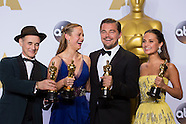 2016 Academy Awards Press Room