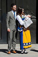 6-6-2016 STOCKHOLM SWEDEN - Prince Carl Philp and  Princess Sofia with Prince Alexander The royal family celebrates National day in Stockholm at the royal palace and COPYRIGHT ROBIN UTRECHT<br /> 6-6-2016 STOCKHOLM SWEDEN - Prince Carl Philp and  Princess Sofia with Prince Alexander The royal family celebrates National day in Stockholm at the royal palace and COPYRIGHT ROBIN UTRECHT<br /> 2016/06/06 STOCKHOLM ZWEDEN - Prins Carl Philip en Prinses Sofia met Prins Alexander De koninklijke familie viert Nationale feestdag in Stockholm bij het koninklijk paleis en COPYRIGHT ROBIN UTRECHT