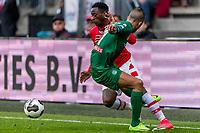 ALKMAAR - 01-04-2017, AZ - FC Groningen, AFAS Stadion, 0-0, AZ speler Ridgeciano Haps, FC Groningen speler Jesper Drost