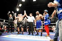Jean Marc Mormeck / Victoire Mateusz Masternak - 05.12.2014 - Boxe - Lourds Legers - Issy les Moulineaux<br />Photo : Andre Ferreira / Icon Sport