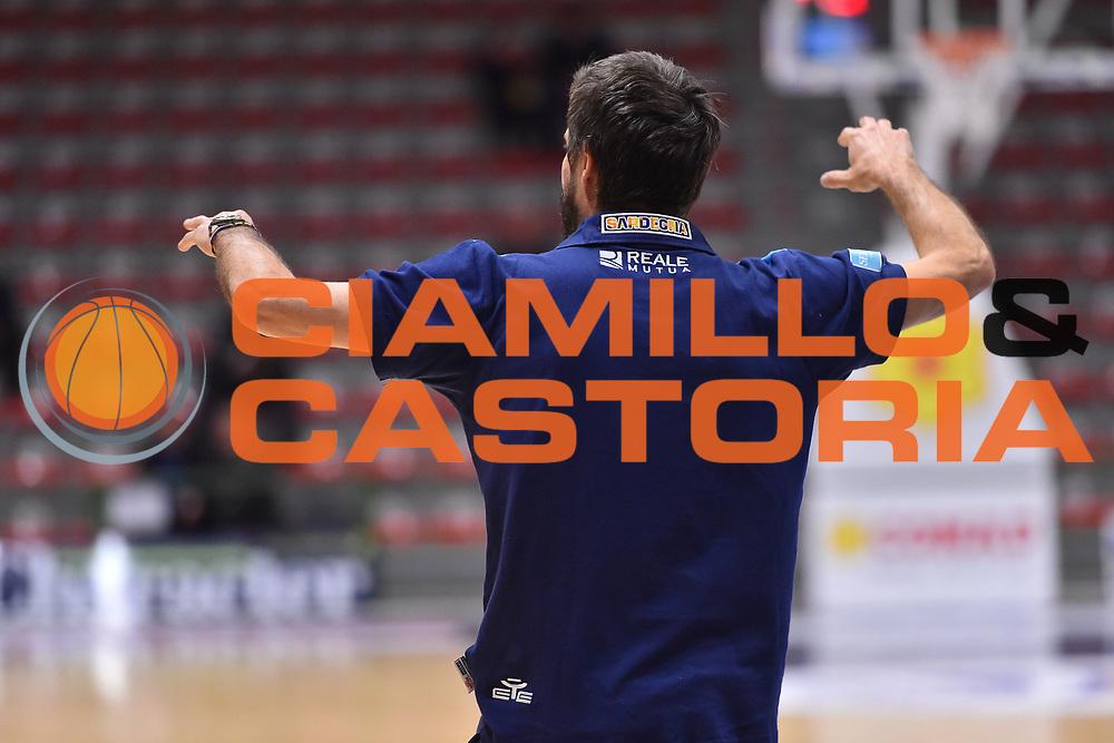 Primo Allenamento Coach Gianmarco Pozzecco<br /> Banco di Sardegna Dinamo Sassari<br /> LBA Serie A Postemobile 2018-2019<br /> Sassari, 12/02/2019<br /> Foto L.Canu / Ciamillo-Castoria