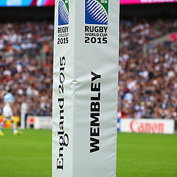 LONDON, ENGLAND - SEPTEMBER 20:  during the Rugby World Cup 2015 Pool C match between New Zealand and Argentina at Wembley Stadium on September 20, 2015 in London, England. (Photo by Steve Haag/Gallo Images)