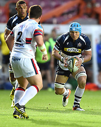 Bristol Rugby replacement Olly Robinson  - Mandatory byline: Joe Meredith/JMP - 25/05/2016 - RUGBY UNION - Ashton Gate Stadium - Bristol, England - Bristol Rugby v Doncaster Knights - Greene King IPA Championship Play Off FINAL 2nd Leg.