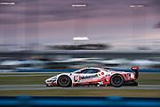 January 24-27, 2019. IMSA Weathertech Series ROLEX Daytona 24. #66 Ford Chip Ganassi Racing Ford GT, GTLM: Joey Hand, Dirk Mueller, Sebastien Bourdais