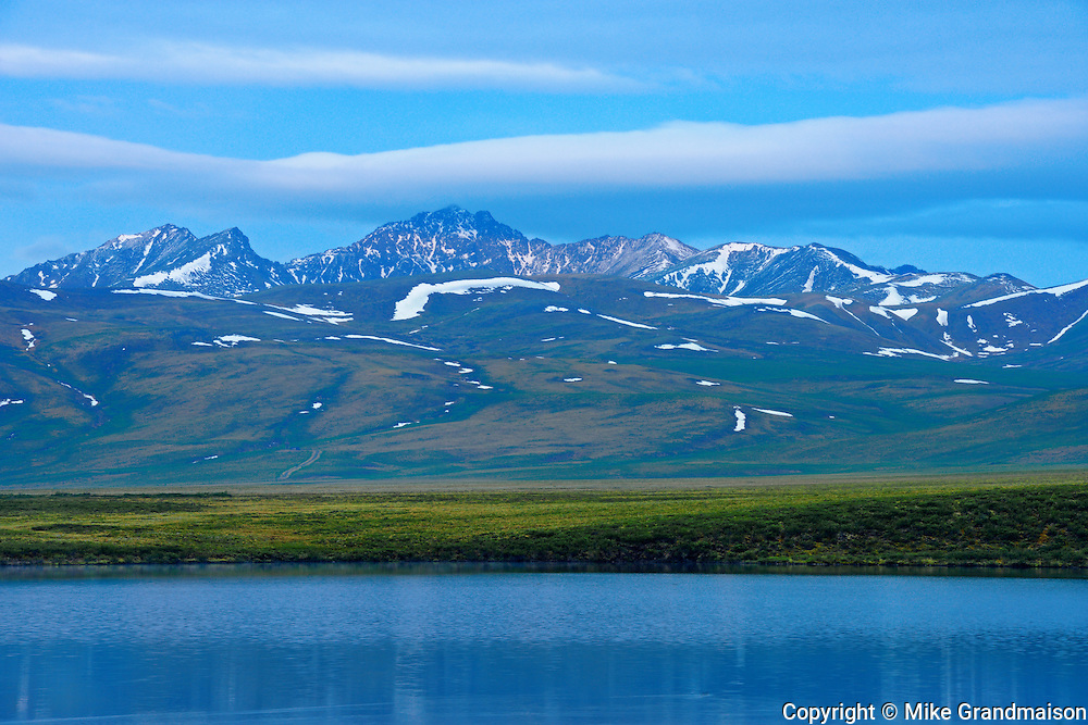 Two Moose Lake and Ogilvie Mountains KM 102<br /> Dempster Highway<br /> Yukon<br /> Canada