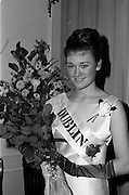 28/04/1965<br /> 04/28/1965<br /> 28 April 1965<br /> Festival of Kerry Dublin Ball at the Gresham Hotel, Dublin. Miss Irene Courtney (19) from Omagh, Co. Tyrone who was chosen as the Dublin Rose of Tralee, is a science student at U.C.D., her grandmother came from Castleisland, Co. Kerry.