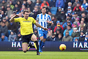 Burton Albion defender Ben Turner (6) during the EFL Sky Bet Championship match between Brighton and Hove Albion and Burton Albion at the American Express Community Stadium, Brighton and Hove, England on 11 February 2017.