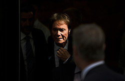 © Licensed to London News Pictures. 18/07/2018. London, UK. An emotional SIR CLIFF RICHARD leaves the Rolls Building of the High Court in London where judges ruled in favour of a claim by Sir Cliff Richard for damages against the BBC for loss of earnings. The 77-year-old singer sued the corporation after his home in Sunningdale, Berkshire was raided following allegations of sexual assault made to Metropolitan Police. Photo credit: Ben Cawthra/LNP