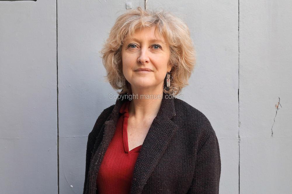 Corinne Castel Nogrette est archéologue, chercheur au CNRS, Maison de l'Orient et de la Méditerranée à Lyon, laboratoire « Archéorient » («Organisation de l'espace ; espace construit, terroirs et territoires»). Elle a co-dirigé la mission archéologique franco-syrienne d'Al-Rawda et elle est la coordonnatrice française de l'ANR franco-syro-allemande «Badiyah». Photo Manuel Cohen, Montpellier le 09 Avril 2016