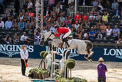 Wathelet Gregory, BEL, MJT Nevado S,<br /> European Championship Jumping<br /> Rotterdam 2019<br /> © Hippo Foto - Dirk Caremans