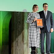 NLD/Amsterdam/20151202 - Koninklijke Familie bij uitreiking Prins Claus Prijs 2015, Oksana Shatalova