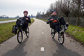 Ligfietsdag - riding a recumbent