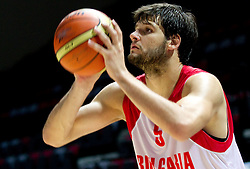 Kaloyan Ivanov at practice session of Bularian National basketball team 1 day before Eurobasket Lithuania 2011, on August 29, 2011, in Arena Svyturio, Klaipeda, Lithuania. (Photo by Vid Ponikvar / Sportida)