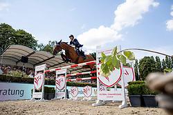 DEVOS Pieter (BEL), Claire Z<br /> Berlin - Global Jumping Berlin 2018<br /> 2. Wertung für Global Champions League<br /> 28. Juli 2018<br /> © www.sportfotos-lafrentz.de/Stefan Lafrentz