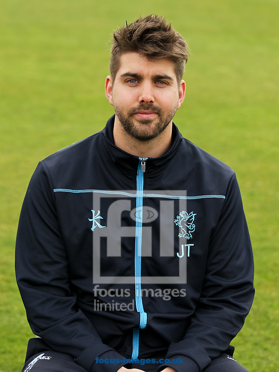 Somerset's lead physiotherapist Jamie Thorpe pictured during the Somerset County Cricket Club media day at the County Ground, Taunton, Taunton<br /> Picture by Tom Smith/Focus Images Ltd 07545141164<br /> 31/03/2014