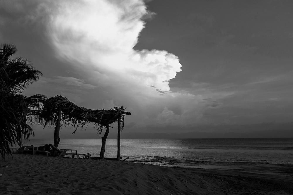 Palapa. Punta Burros, Mexico