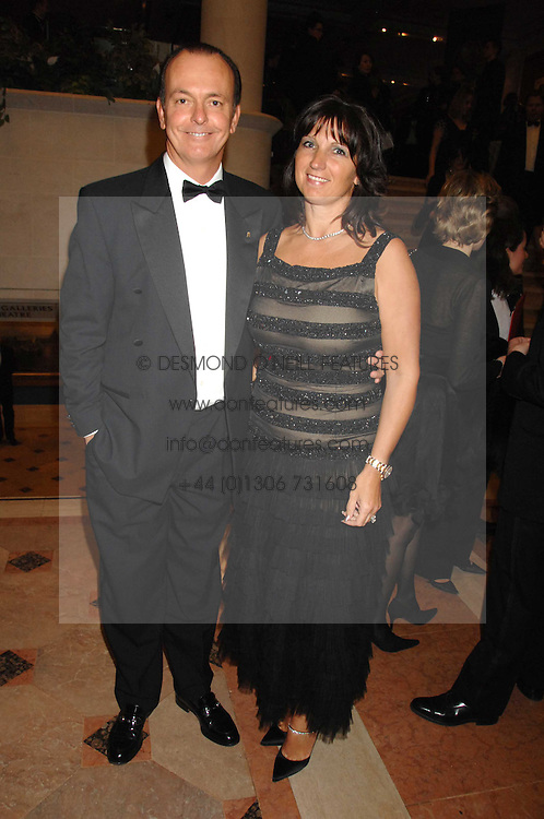 TV presenter and motoring correspondent QUENTIN WILSON and his wife MICHAELA at the Morgan Stanley Great Britons Awards at The Guildhall, City of London on 31st January 2008.  Conservative party leader David Cameron presenter a lifetime achievement award to former Prime Minister Baroness Thatcher.<br /> <br /> NON EXCLUSIVE - WORLD RIGHTS (EMBARGOED FOR PUBLICATION IN UK MAGAZINES UNTIL 2 WEEKS AFTER CREATE DATE AND TIME) www.donfeatures.com  +44 (0) 7092 235465