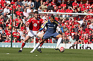Coca Cola championship, Bristol City v Cardiff City at Ashton Gate ground in Bristol on Sun 15th March 2009. pic by Andrew Orchard, Andrew Orchard sports photography, Jay Bothroyd of Cardiff City
