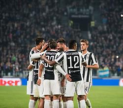 October 25, 2017 - Turin, Piemonte/Torino, Italy - Juventus and Paulo Dybala celebrates during the match Juventus FC vs SPAL 2013 (Credit Image: © Alberto Gandolfo/Pacific Press via ZUMA Wire)
