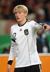 ANDREAS BECK.GERMANY.GERMANY V IVORY COAST.VELTINS ARENA, GELSENKIRCHEN, GERMANY.18 November 2009.GAB4547..  .WARNING! This Photograph May Only Be Used For Newspaper And/Or Magazine Editorial Purposes..May Not Be Used For, Internet/Online Usage Nor For Publications Involving 1 player, 1 Club Or 1 Competition,.Without Written Authorisation From Football DataCo Ltd..For Any Queries, Please Contact Football DataCo Ltd on +44 (0) 207 864 9121
