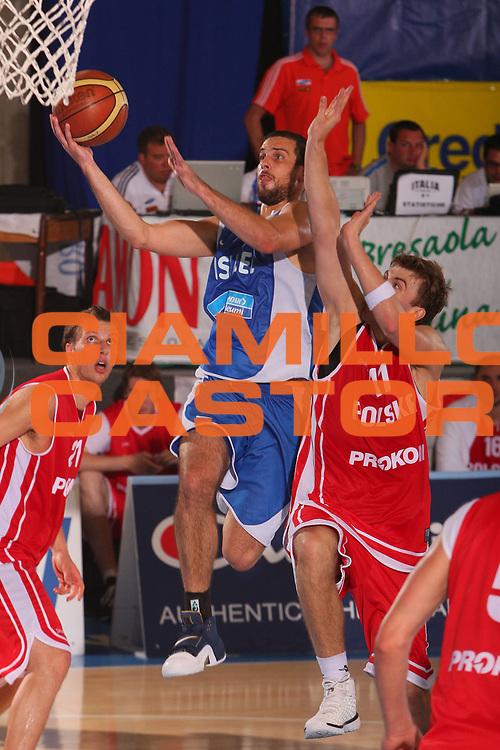 DESCRIZIONE : Bormio Torneo Internazionale Maschile Diego Gianatti Israele Polonia <br /> GIOCATORE : Yotan Halperin <br /> SQUADRA : Israele Israel <br /> EVENTO : Raduno Collegiale Nazionale Maschile <br /> GARA : Israele Polonia Israel Poland <br /> DATA : 02/08/2008 <br /> CATEGORIA : Tiro <br /> SPORT : Pallacanestro <br /> AUTORE : Agenzia Ciamillo-Castoria/S.Silvestri <br /> Galleria : Fip Nazionali 2008 <br /> Fotonotizia : Bormio Torneo Internazionale Maschile Diego Gianatti Israele Polonia <br /> Predefinita :