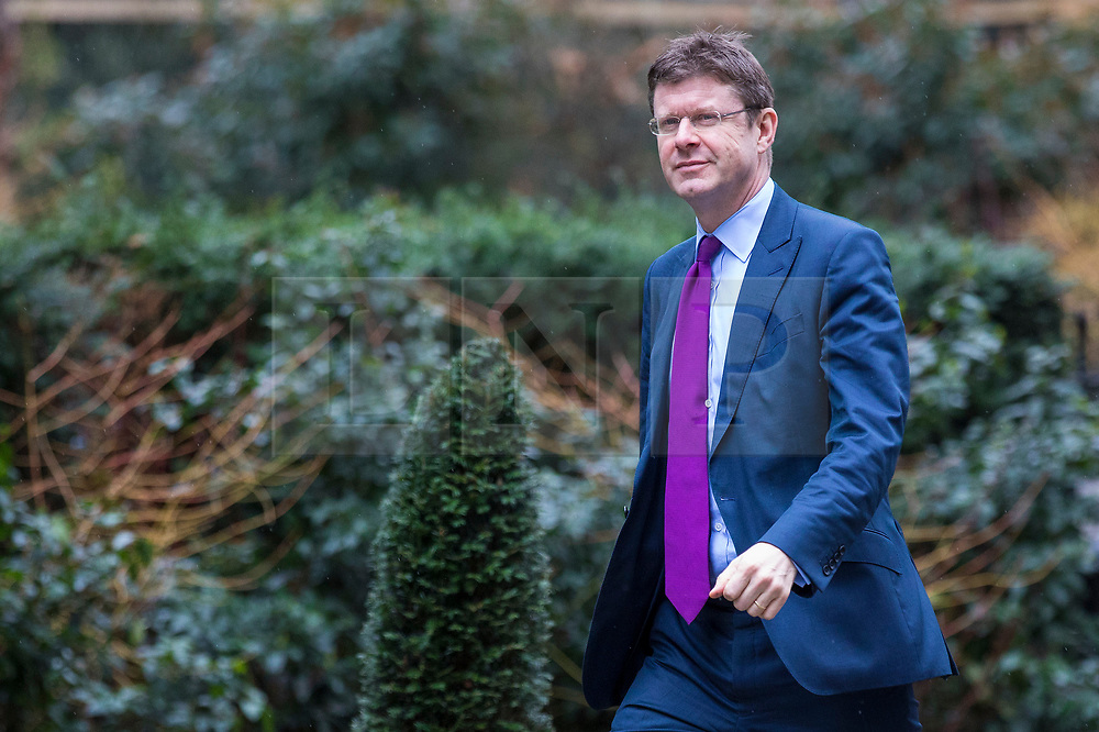 © Licensed to London News Pictures. 12/03/2018. London, UK. Secretary of State for Business, Energy and Industrial Strategy Greg Clark on Downing Street ahead of a National Security Council meeting where the Salisbury spy incident is to be discussed. Photo credit: Rob Pinney/LNP