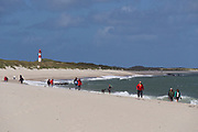 Sylt, Germany. Ellenbogen, the Northern tip of the island.
