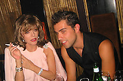 Joan Collins.Man Ray Restaurant Opening Party.Man Ray Restaurant.New York,  NY .July 11, 2001.Photo by Celebrityvibe.com..