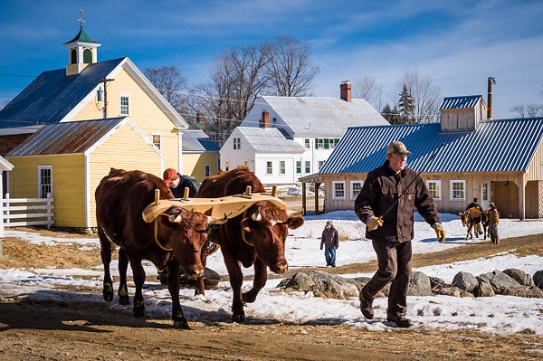Remick Museum, Tamworth, New Hampshire winter carnival event.<br />