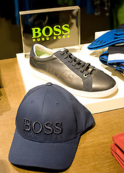 © Ben Cawthra. 23/11/2011. Press viewing of the Hugo Boss store in Westfield Stratford which was attended by Claus-Dietrich Lahrs, CEO of Hugo Boss. Photo credit : Ben Cawthra